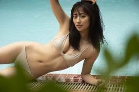 Kazusa Okuyama swimsuit bikini picture Sentai heroine real 2019011