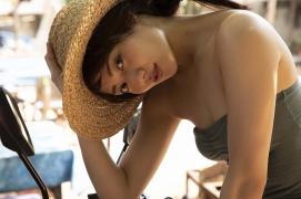Kazusa Okuyama swimsuit bikini top beauty body005