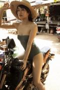 Kazusa Okuyama swimsuit bikini top beauty body006