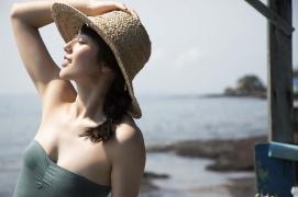 Kazusa Okuyama swimsuit bikini top beauty body007