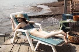 Kazusa Okuyama swimsuit bikini top beauty body008