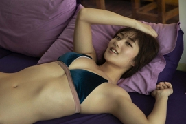 Kazusa Okuyama swimsuit bikini top beauty body026