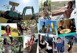 Eri Oishi Excavator in a swimsuit for the first time Women s Travel Real 2020001