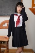 Shirasaka Yui Underwear picture of a girl in a sailor suit temptation to undress002
