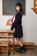Shirasaka Yui Underwear picture of a girl in a sailor suit temptation to undress005