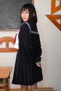 Shirasaka Yui Underwear picture of a girl in a sailor suit temptation to undress009