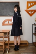 Shirasaka Yui Underwear picture of a girl in a sailor suit temptation to undress008