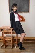 Shirasaka Yui Underwear picture of a girl in a sailor suit temptation to undress012