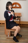 Shirasaka Yui Underwear picture of a girl in a sailor suit temptation to undress036