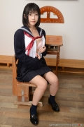 Shirasaka Yui Underwear picture of a girl in a sailor suit temptation to undress047