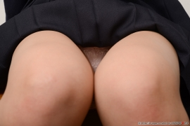 Shirasaka Yui Underwear picture of a girl in a sailor suit temptation to undress060