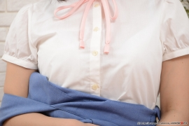 Shirasaka Yui Underwear Pictures of young ladys uniform046