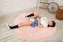 Shirasaka Yui Underwear Pictures of young ladys uniform076