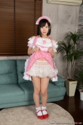 Shirasaka Yui maidservant undressing exposure020