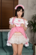 Shirasaka Yui maidservant undressing exposure021
