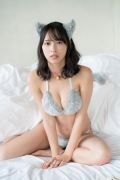 Otsuki Riko Swimsuit Gravure Cat Bikini Soccer Girl Mismaga 2020001