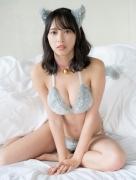 Otsuki Riko Swimsuit Gravure Cat Bikini Soccer Girl Mismaga 2020011