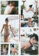 Kuroki Hikari fresh black hair beautiful girl swimsuit picture016