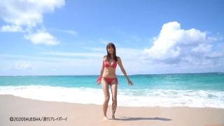 Asuka Kawazu A swimsuit bikini gravure Kamen Rider Saber as heroine Mei Sudo 2020007