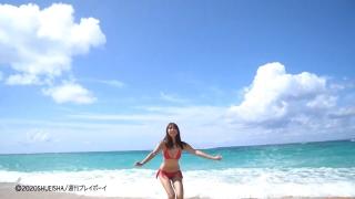Asuka Kawazu A swimsuit bikini gravure Kamen Rider Saber as heroine Mei Sudo 2020005