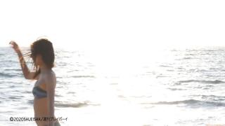 Asuka Kawazu A swimsuit bikini gravure Kamen Rider Saber as heroine Mei Sudo 2020058