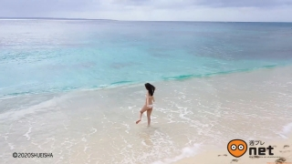 Koike Rina Swimwear Bikini Gravure Miracle at 27 years old 2020003
