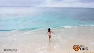 Koike Rina Swimwear Bikini Gravure Miracle at 27 years old 2020004