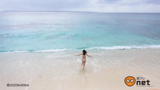 Koike Rina Swimwear Bikini Gravure Miracle at 27 years old 2020005