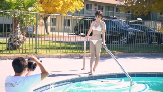 Nagatsuki Midori Swimwear Bikini Gravure Last Idol 2020034