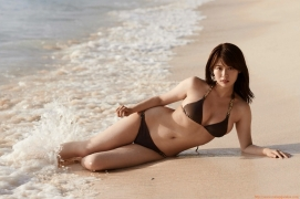 Ayako Iguchi gravure swimsuit picture the last two months of active female college students032