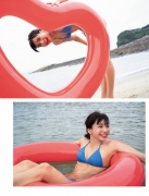 Akane Sakanoue Akane shows off her first and last swimsuit002