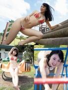 Mizuki Sakigawa Mizuki swimsuit bikini gravure Miss FLASH 2020002
