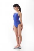 Hinako Tamaki swimming swimsuit gravure image Speedo Blue002
