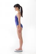 Hinako Tamaki swimming swimsuit gravure image Speedo Blue003