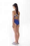 Hinako Tamaki swimming swimsuit gravure image Speedo Blue004