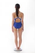 Hinako Tamaki swimming swimsuit gravure image Speedo Blue005
