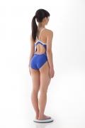 Hinako Tamaki swimming swimsuit gravure image Speedo Blue006