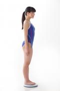 Hinako Tamaki swimming swimsuit gravure image Speedo Blue007