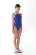 Hinako Tamaki swimming swimsuit gravure image Speedo Blue008