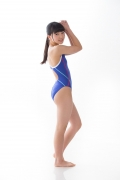 Hinako Tamaki swimming swimsuit gravure image Speedo Blue010