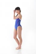 Hinako Tamaki swimming swimsuit gravure image Speedo Blue012