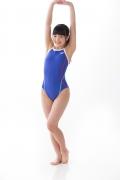Hinako Tamaki swimming swimsuit gravure image Speedo Blue014