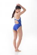 Hinako Tamaki swimming swimsuit gravure image Speedo Blue017