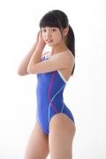 Hinako Tamaki swimming swimsuit gravure image Speedo Blue018