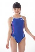 Hinako Tamaki swimming swimsuit gravure image Speedo Blue019