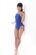Hinako Tamaki swimming swimsuit gravure image Speedo Blue024