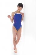 Hinako Tamaki swimming swimsuit gravure image Speedo Blue025