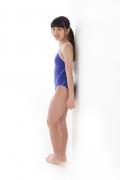 Hinako Tamaki swimming swimsuit gravure image Speedo Blue027