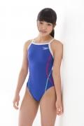 Hinako Tamaki swimming swimsuit gravure image Speedo Blue028