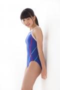 Hinako Tamaki swimming swimsuit gravure image Speedo Blue030